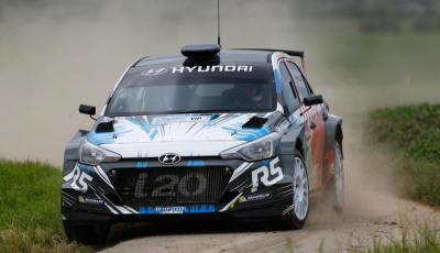 Hyundai New Generation i20 R5 runs Winmax Brake Pads in Corsica WRC Rally