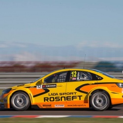 Lada Sport runs Winmax Brake Pads in the WTCC