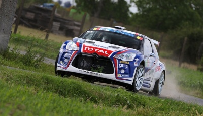 Kevin Abbring chooses Winmax pads for the Ypres Rally