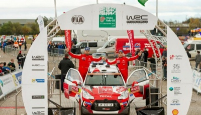 Winmax Brake Pads World Rally Champion with Quentin Gilbert