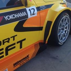Lada Sport runs Winmax Brake Pads in the WTCC