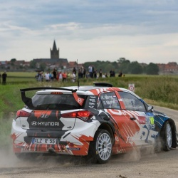 Hyundai New Generation i20 R5 runs Winmax Brake Pads in Corsica WRC Rally